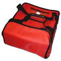 Zobrazit detail - Termo taška na pizzu 4 x 33 cm 4 x 350 x 350 - pevná konstrukce