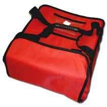 Termo taška na pizzu 4 x 33 cm 4 x 350 x 350 - pevná konstrukce