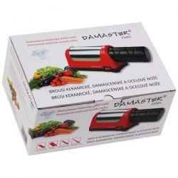 Elektrický ostřič nožů - brousek na keramické nože DAMASTER Z1001 s diamantovými kotouči