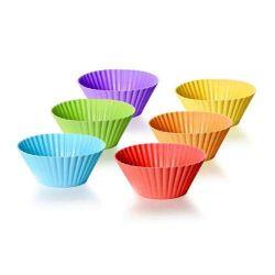 Sada silikonových košíčků 6 ks na pečení, Culinaria