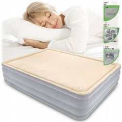 Air Bed Komfort Foamtop dvoulůžko 203 x 152 x 46 cm 67486, s vestavěným kompresorem Bestway