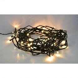 Solight LED vánoční řetěz, 300 LED, 30m, přívod 5m, IP44, teplá bílá