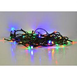 Solight LED venkovní vánoční řetěz, 300 LED, 30m, přívod 5m, 8 funkcí, časovač, IP44, vícebarevný