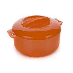 Termohrnec 3,5L Apetit termomísa s poklicí, barva oranžová
