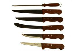 Sada 6ks Nožů 5 nožů + ocilka