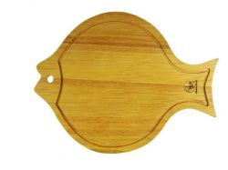 Krájecí dřevěná deska ryba