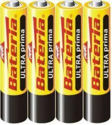 Tužková baterie menší - ULTRAprima AAA / R03 1,5 V - 1 ks