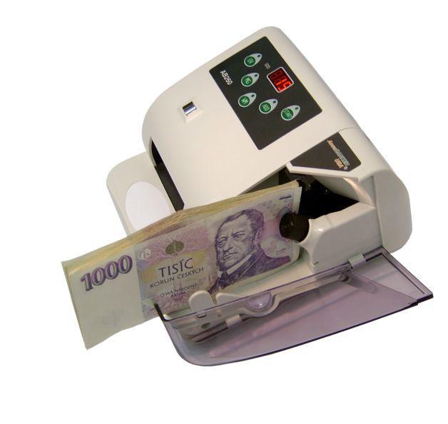 Přenosná počítačka bankovek AB-260 AccuBanker s detekcí