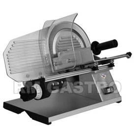 Nářezový stroj RM GASTRO - hladký nůž - šnekový převod GMS 275 XL