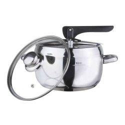 Tlakový hrnec 5l Andante s extra skleněnou poklicí - Papiňák