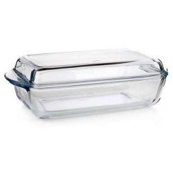 Pekáč skleněný 2,8l hranatý