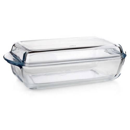Pekáč skleněný 2,8l hranatý Banquet