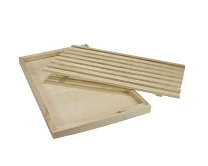 Dřevěné prkénko na pečivo