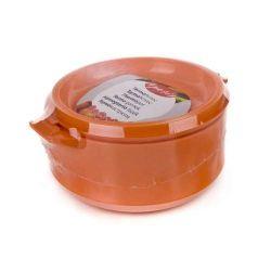 Termohrnec 2,5L Apetit termomísa s poklicí, barva oranžová