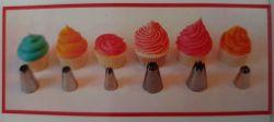 Nástavce na zdobení dortů - zdobící trysky 12 ks Smart Cook