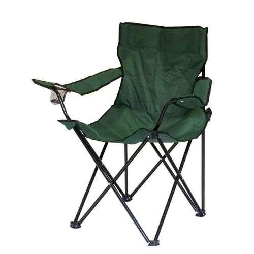 Rybářské křesílko FISH GREEN - Křeslo HAPPY GREEN - Skladací camping židle Banquet