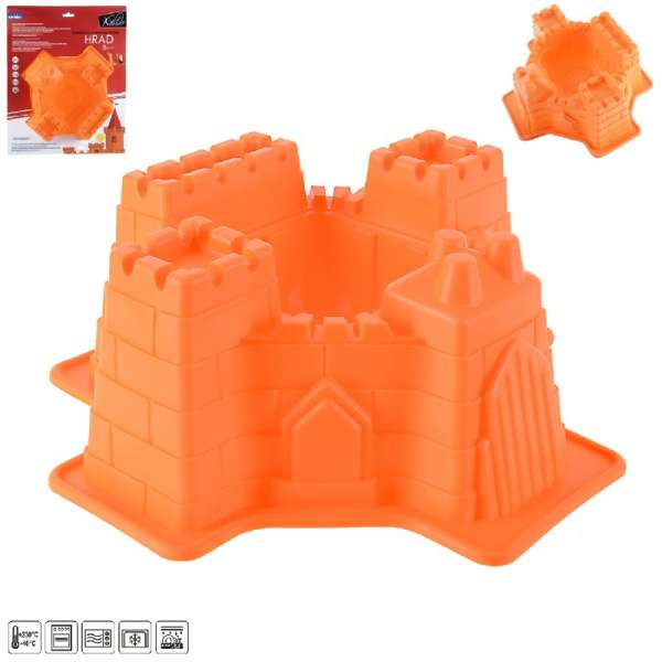 Forma hrad - Silikon