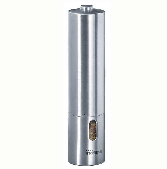 TRISTAR Elektrický mlýnek na koření a sůl Tristar PM-4004 - Mlýnek na pepř a sůl - bateriové
