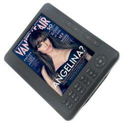 Elektronická čtečka knih E-BOOK 7'' Černý E-Reader 4 GB Ebook