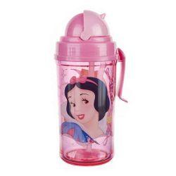 Láhev s brčkem 350ml, Princess Princezny