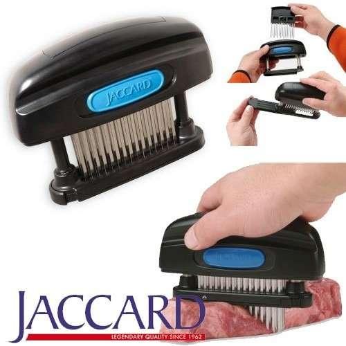 Naklepávač a změkčovač masa ruční tenderizér - 45 nožů 3 řady po 15 čepelí Rozebíratelný JACCARD