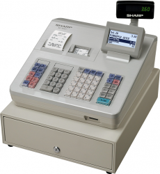 Zobrazit detail - Registračni pokladna SHARP XE-A307 včetně pokladní zásuvky
