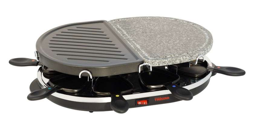 TRISTAR Raclette gril s kamenem Tristar RA-2946, 8 osob, 1200W