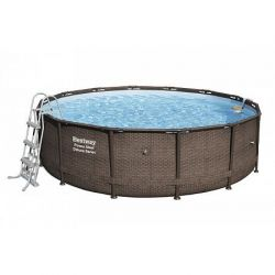Bazén Power Steel Deluxe Rattan 4,27 x 1,07 m - 56664
