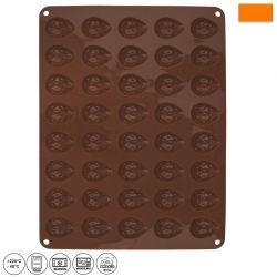 Forma silikon ořechy 40 ks
