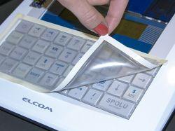 Silikonová fólie - kryt klávesnice pro pokladnu Euro-150 Flexy