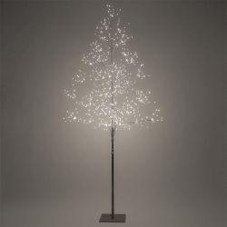 Solight LED venkovní stromek, 150cm, 360 LED, teplé bílé světlo, hnědá barva