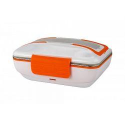 Ohřívací box na jídlo WARMY 12V/230V | oranžová, zelená