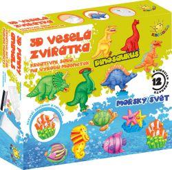 3D veselá zvířátka, výroba magnetek, samostatně