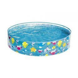 55028 Dětský bazén mořský svět 122 x 25 cm