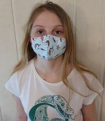 Dětský respirátor FFP2 - 10 ks - UNICORN YWSH