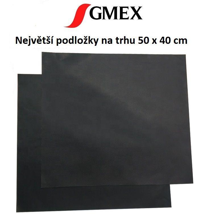 Teflonová podložka na gril a do trouby - Podložky grilovací GMEX 50x40 cm 2ks GASTROMEX