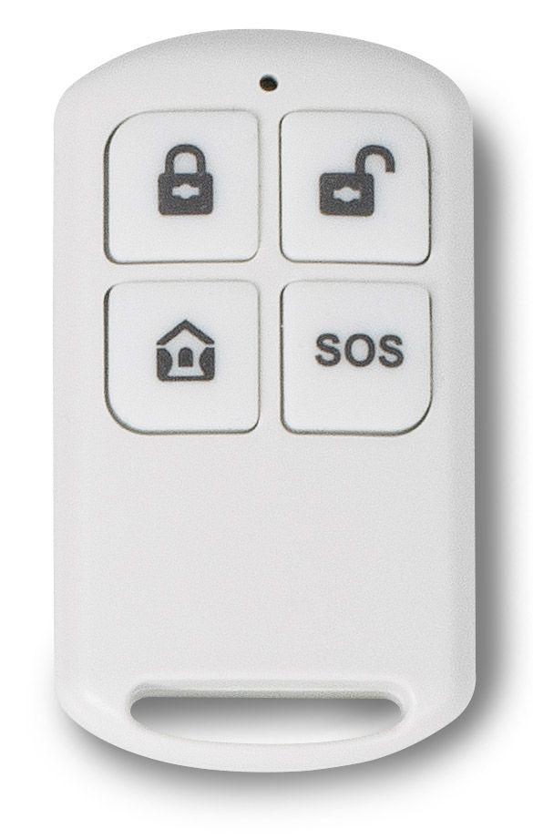 Bezdrátové dálkové ovládání k domovnímu GSM alarmu Platinium