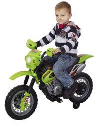 Dětská motorka Enduro | červená, zelená