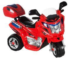 Dětská motorka Rallye, s adaptérem | černá, červená, modrá