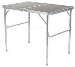 Kempingový skládací stolek 90 x 72 x 60 cm