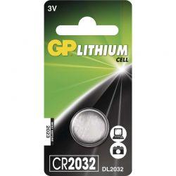 Lithiová knoflíková baterie GP CR2032, samostatně