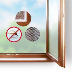 Okenní síť proti hmyzu 130x150cm, bílá, samostatně