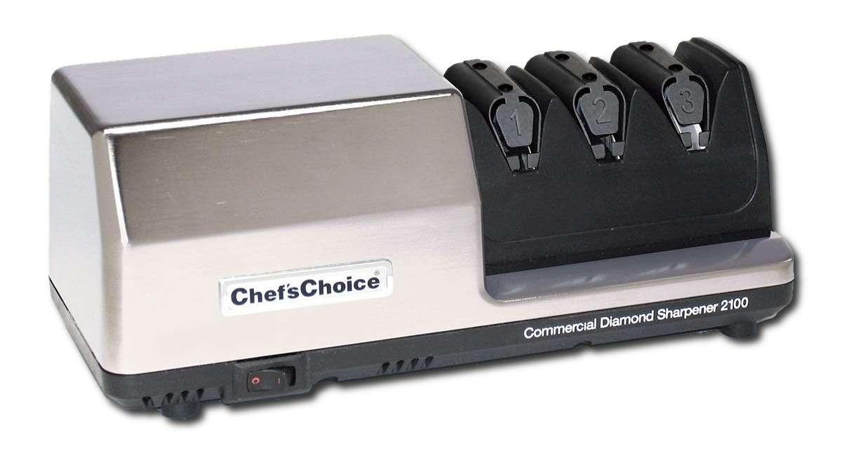 Chef´s Choice Brusič nožů elektrický - brousič nožů Sharpener CC-2100 Chef's Choice