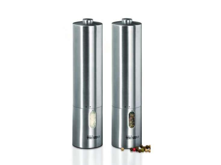 TRISTAR Sada mlýnků na sůl a pepř Tristar 2 ks PM-4005