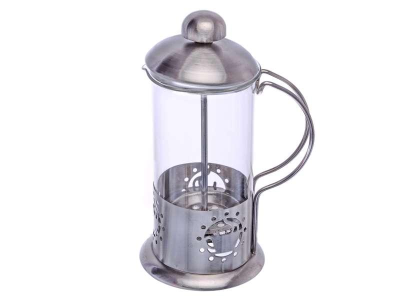 Smart Cook Konvice na kávu nebo čaj se sítkem 0,6 l pro tzv. French press Kafeterie