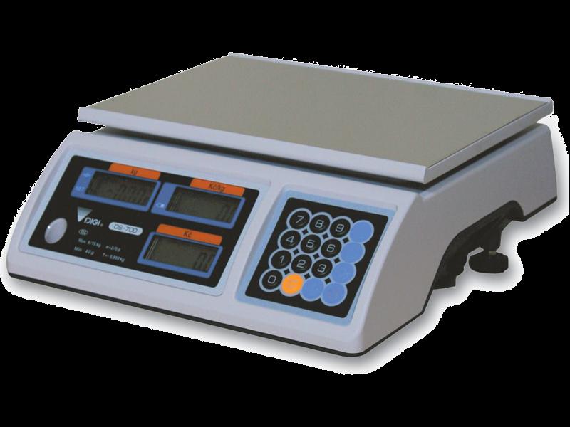 Obchodní váha DIGI DS - 700 B