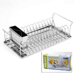 Odkapávač na nádobí nerez 46x23