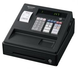 Zobrazit detail - Registrační pokladna černá - Sharp XE-A147BK - obchodní pokladny včetně pokladní zásuvky