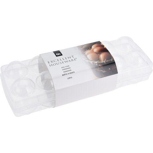 Box na 12ks vajec UH uzavíratelný 27x9,5x7,5 - Dóza na vajíčka Excellent Houseware
