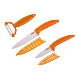 3dílná sada keramických nožů GOURMET CERAMIA ARANCIA BANQUET